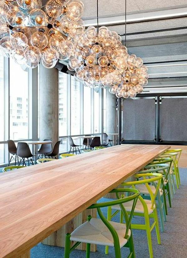 Modernes Design von Büros