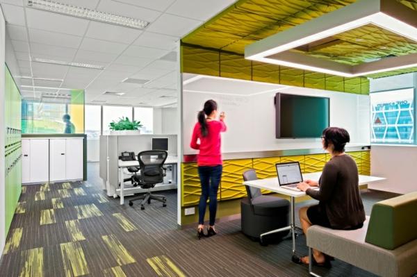 Ein modernes Design für Büroraum
