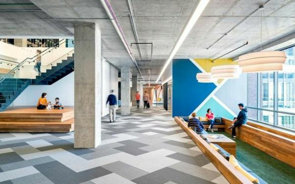 Kreativ gemachtes Design für Innenarchitektur