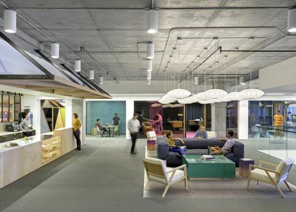 Cisco Büros mit außergewöhnlicher Innenarchitektur