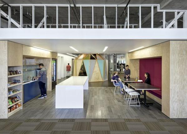 Cisco Büros mit moderner Architektur