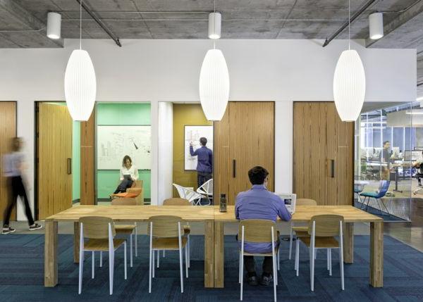 Cisco mit kreativer Innenarchitektur