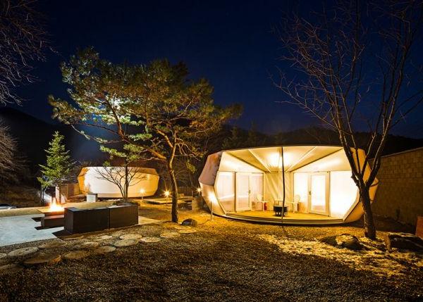 innovatives zelt camping als hobby für große und kleine - archzine, Hause ideen