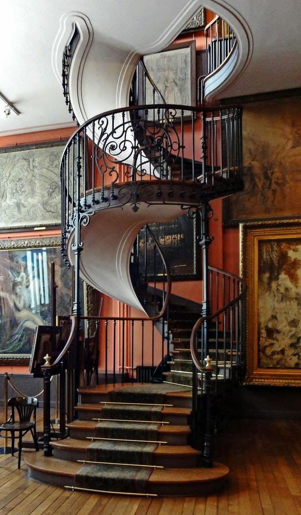 Moderne treppen ideen  verschiedene modelle und farben   archzine.net