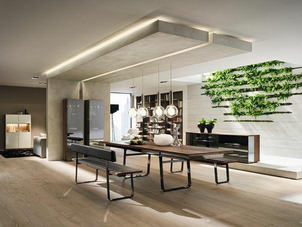 Perfektes Design vom Esszimmer