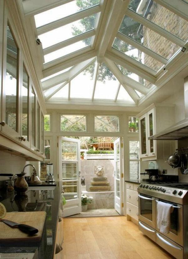 naturfreundliche Fenster mit guter Beleuchtung