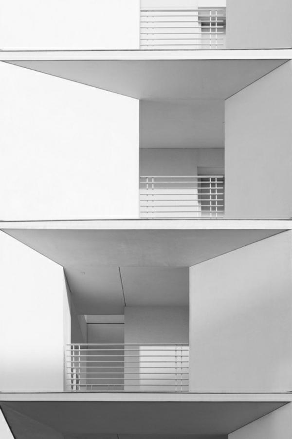 Weißes Haus Mit Moderner Fassade