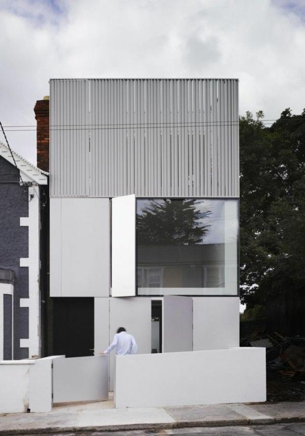 Weiß als die beste Fassadenfarbe für Ihr Zuhause - Archzine.net