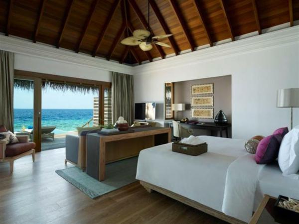 Schöner Blick aufs Meer und freundliche Atmosphäre im Zimmer am Insel