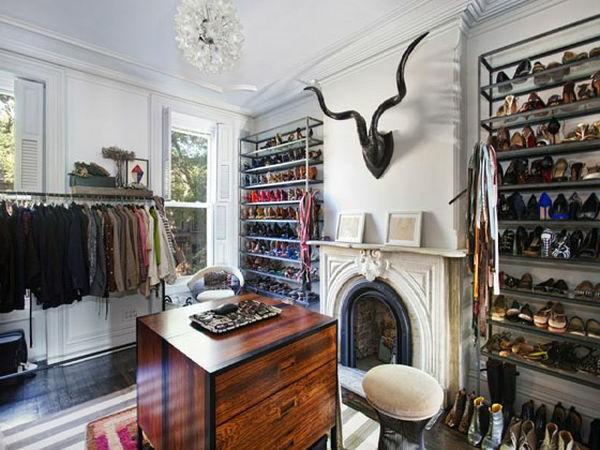 Begehbarer Kleiderschrank Ideen- verschiedene Designs und hohe ...