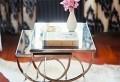 Beispiele für Wohnraumgestaltung-Designer Wohnzimmer mit Nest Tischen