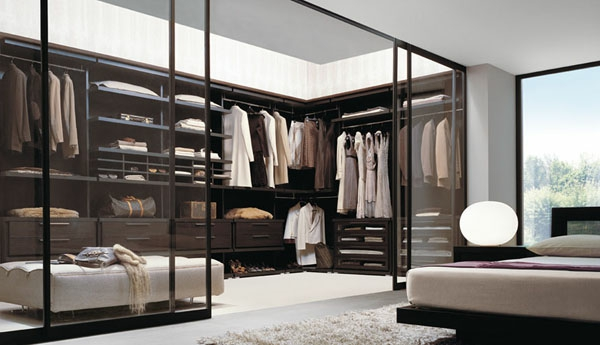 schlafzimmer mit begehbarem kleiderschrank und bad: begehbarer, Hause ideen
