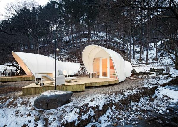 Modische Tendenzen beim Zelt Camping