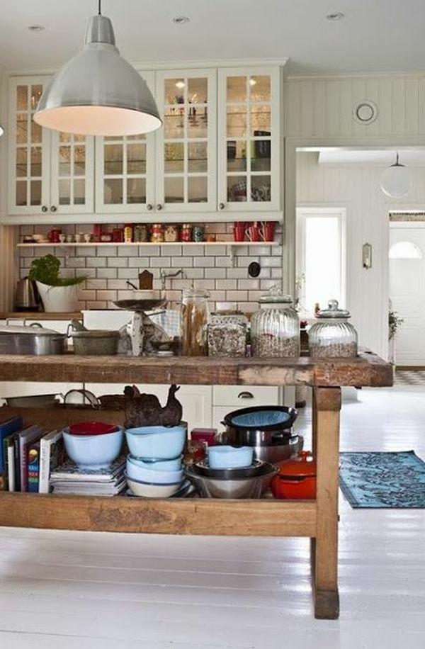 Elegante Kochinsel für ein schönes Küchen Design im Weiß