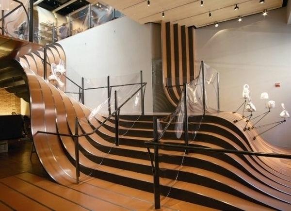 Moderne Treppen Ideen- verschiedene Modelle und Farben - Archzine.net