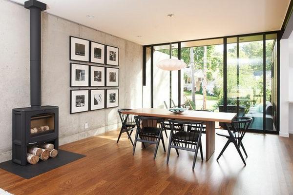 moderne ideen für esszimmer design- neue tendenzen in esszimmer, Esszimmer