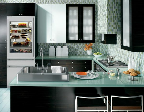 Energiesparrende Küche für die Wohnung