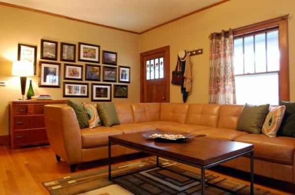 Wohnzimmer einrichten modernes designer sofa aus leder - Wohnzimmer couch leder ...