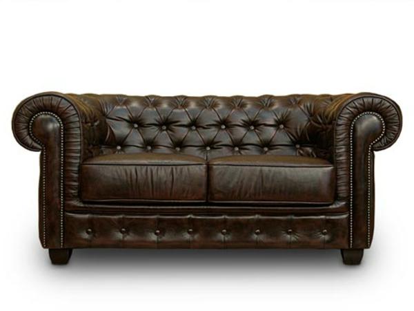 Schönes leder Sofa aus Leder für ein luxus Wohnzimmer