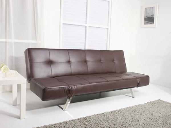 wohnzimmer einrichten modernes designer sofa aus leder. Black Bedroom Furniture Sets. Home Design Ideas
