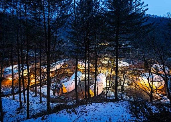Neue Beispiele für Zelt Designs