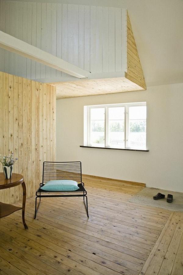 Design aus Holz für energieeffiziente Wohnung