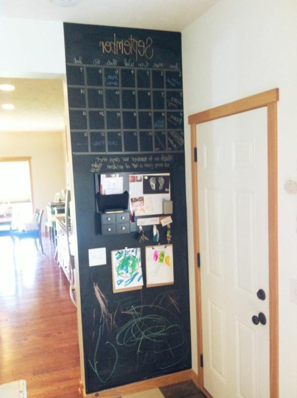 modernes deko design für die wohnung-25 kreidetafel ideen ... - Wohnung Ideen Selber Machen
