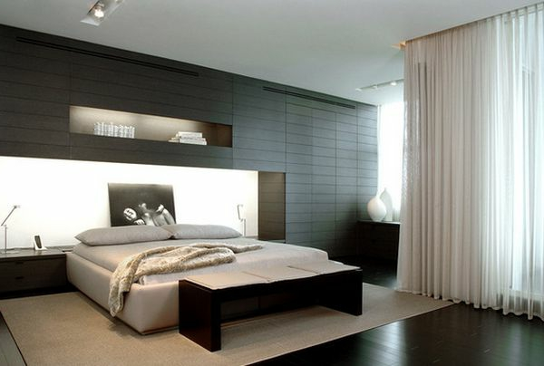 modernes schlafzimmer design kreative ideen f r kopfbretter. Black Bedroom Furniture Sets. Home Design Ideas