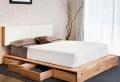Modernes Schlafzimmer Design- kreative Ideen für Kopfbretter