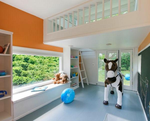 Bett design 24 super ideen f r kinderzimmer innenarchitektur for Fenster kinderzimmer