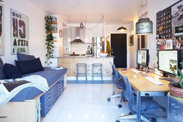 Arbeitszimmer Im Skandinavischen Stil 29 Coole Ideen ...