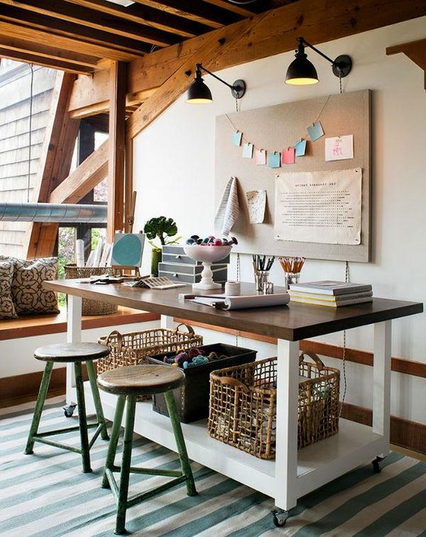 Arbeitszimmer design  Arbeitszimmer im skandinavischen Stil-29 coole Ideen - Archzine.net