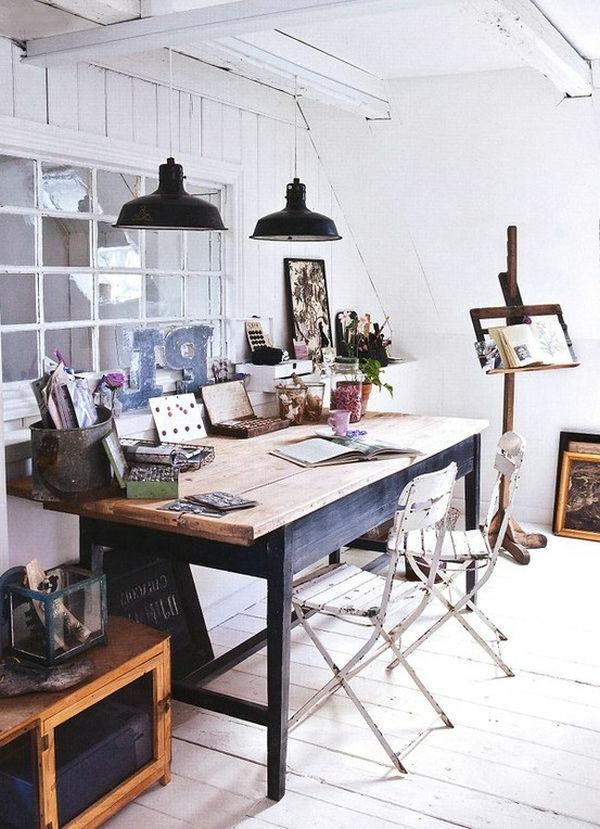 Arbeitszimmer im skandinavischen Stil-29 coole Ideen - Archzine.net