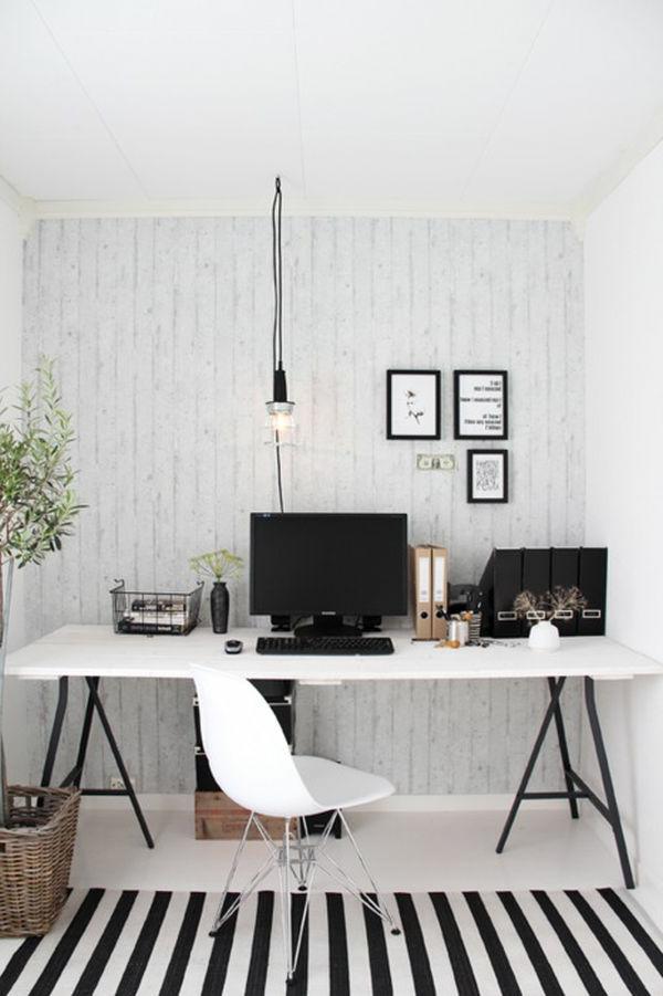 arbeitszimmer im skandinavischen stil 29 coole ideen. Black Bedroom Furniture Sets. Home Design Ideas