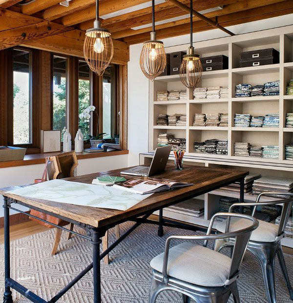 Moderne luxus arbeitszimmer  Arbeitszimmer im skandinavischen Stil-29 coole Ideen - Archzine.net