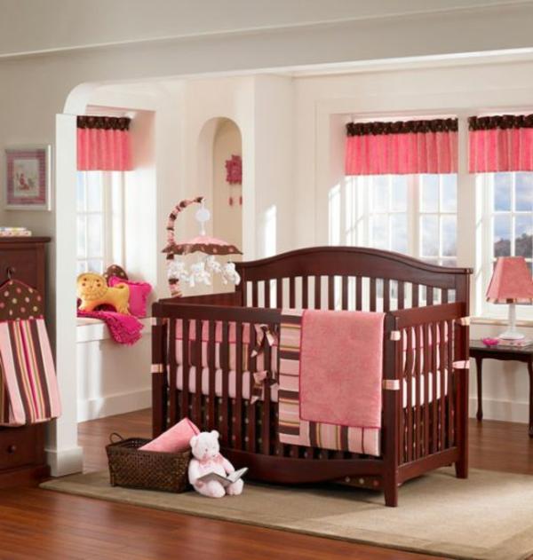 rosige farbe für babyzimmer gestaltung