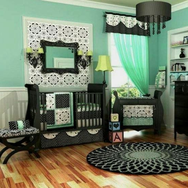 45 auffällige ideen   babyzimmer komplett gestalten   archzine.net