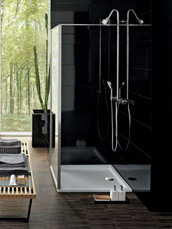 21 eigenartige ideen bad mit dusche ultramodern ausstatten. Black Bedroom Furniture Sets. Home Design Ideas