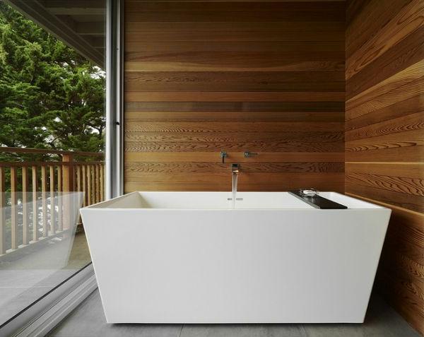 Wandverkleidung Holzwand Im Badezimmer Raum Und M 246 Beldesign Inspiration