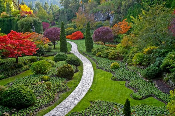 Gartengestaltung 60 fantastische garten ideen for Domestic garden designs