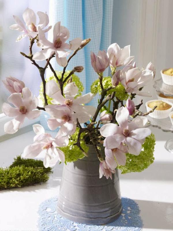 baumzweige und blüten für tisch dekoration - 2014