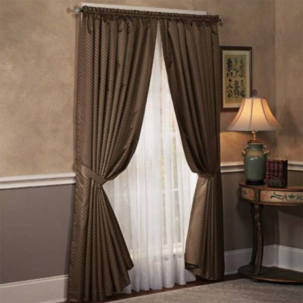 25 moderne gardinen ideen f r ihr zuhause - Gardinen braun ...