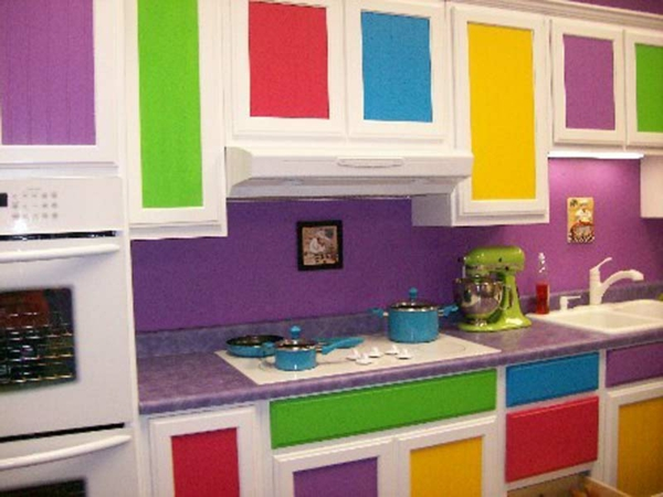 Kitchen Cabinet Painted Colors Inside