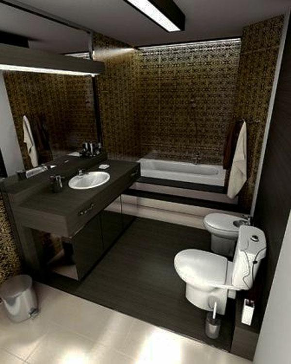 badideen - großes spiegel und hölzerner spiegelschrank