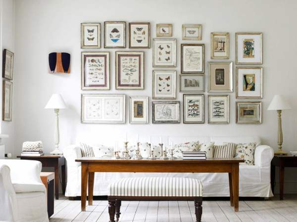 Wohnzimmer Gestaltung Im Weiß