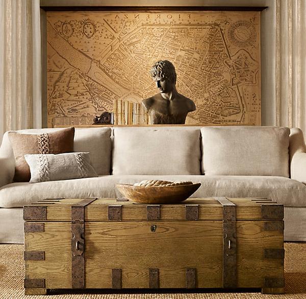 wohnzimmer und esszimmer kombinieren:wohnzimmer idee antikes aussehen ...