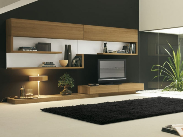 schrank wohnzimmer modern. Black Bedroom Furniture Sets. Home Design Ideas