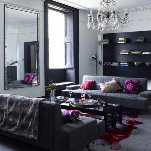 wohnzimmer gestalten braune m bel. Black Bedroom Furniture Sets. Home Design Ideas