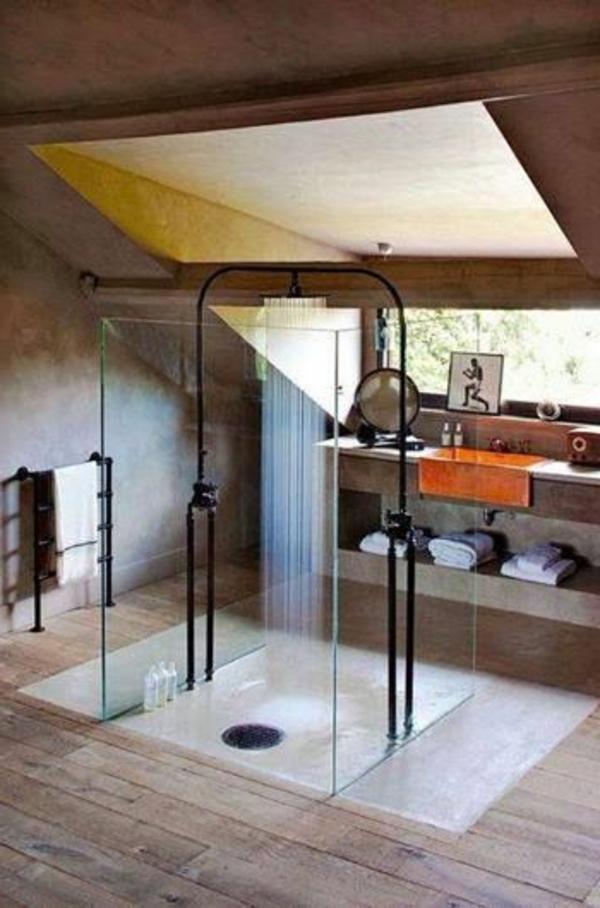 extravantes modell von gläserne duschkabine