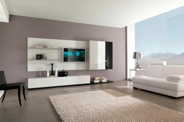 Helles Wohnzimmer Mit Moderner Einrichtung